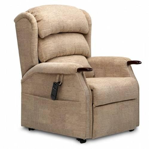 brown adjustable chair